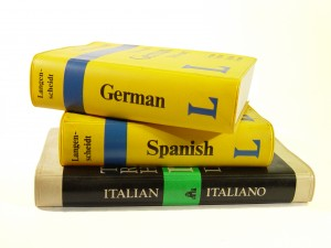Language dictionaries