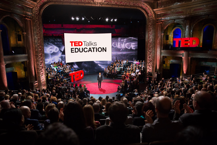 TED Talk Education scene