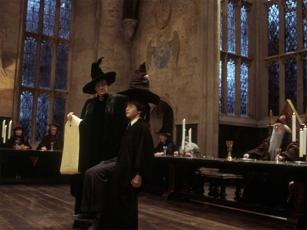 Harry Potter getting chosen