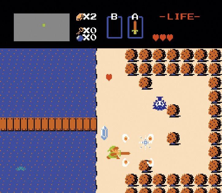 Zelda video game screenshot