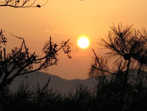 New Year's Sun in Korea