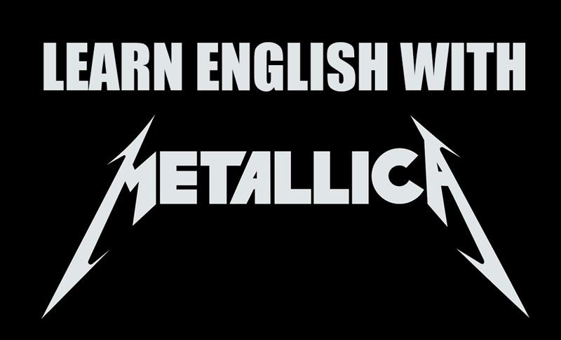 Learn English with Metallica
