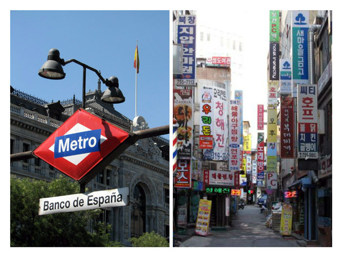Teaching English abroad Spain Korea