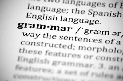 write grammatically correct essay