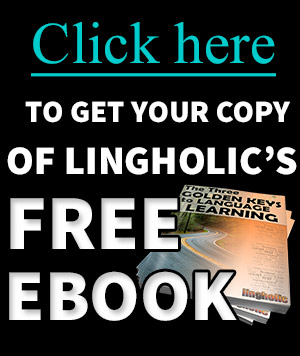 Lingholic Sign Up