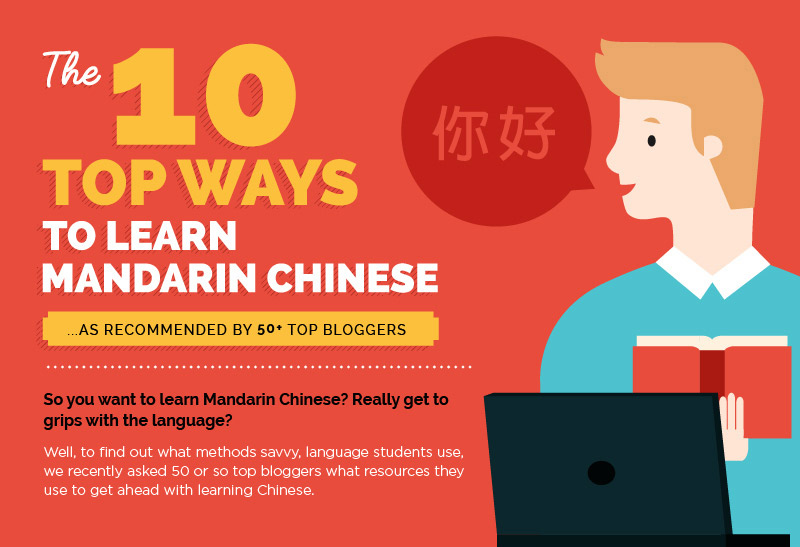 Top 10 ways to learn Mandarin Chinese