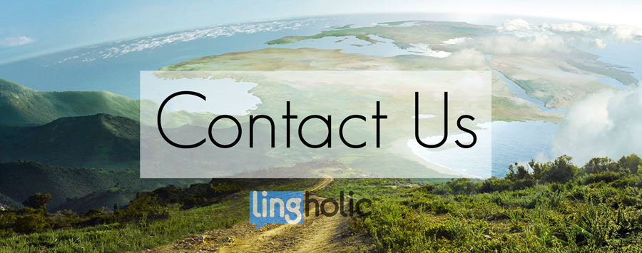 Lingholic-contact-us