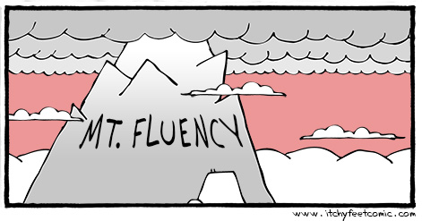 Mount-Fluency - Itchy Feet Comic