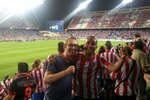 Soccer match in Spain