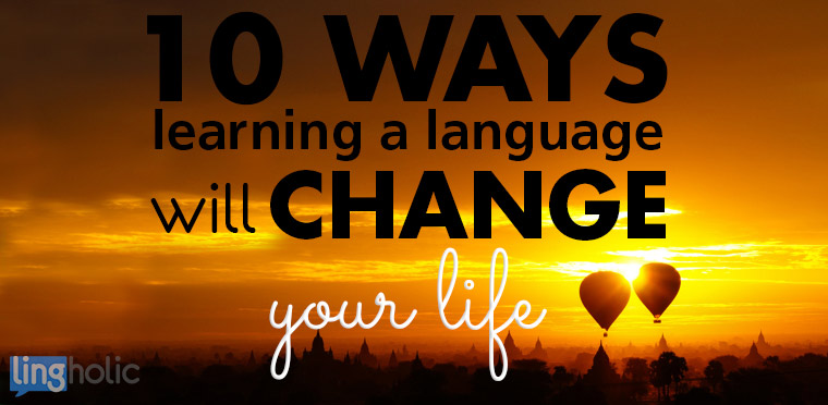 language will change your life