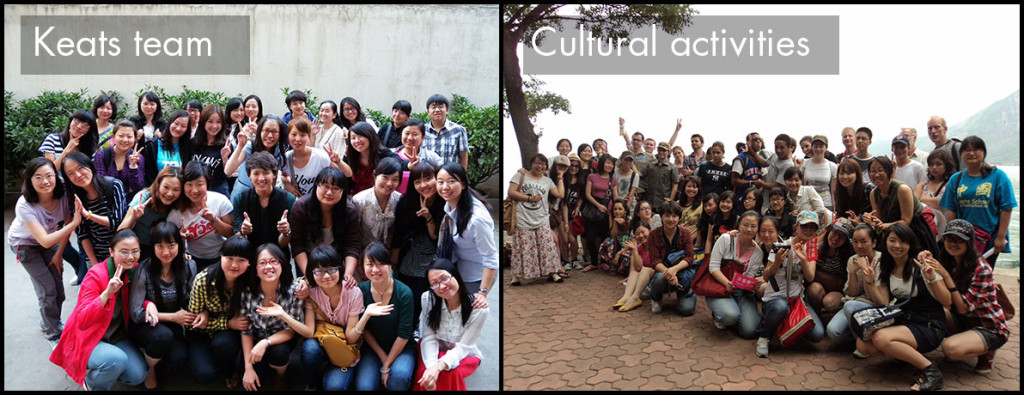 Chinese in China cultural activities