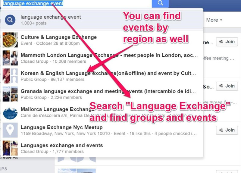 Language-Exchange-Facebook-screenshot