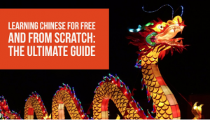 Learning Chinese and from scratch